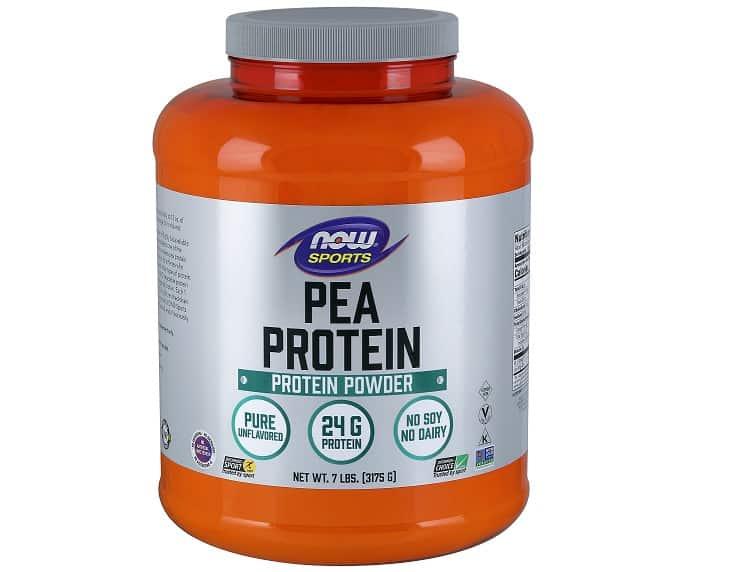 אבקת חלבון אפונה של חברת Now Foods