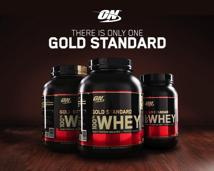 אבקת חלבון Optimum Nutrition Gold Standard Whey