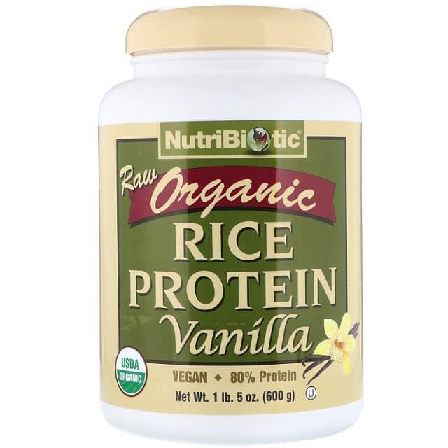 חלבון אורז חום של חברת NutriBiotic