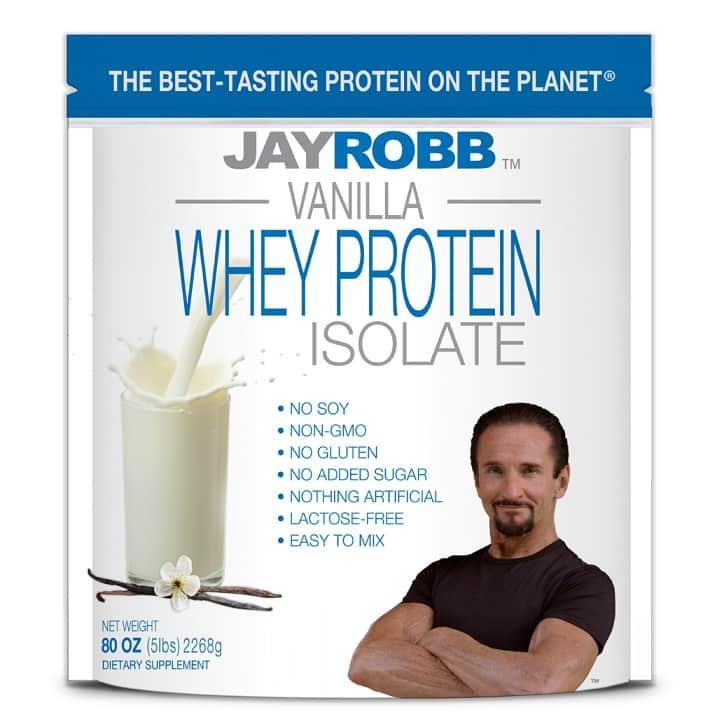 אבקת חלבון ביצה של מותג Jay Robb