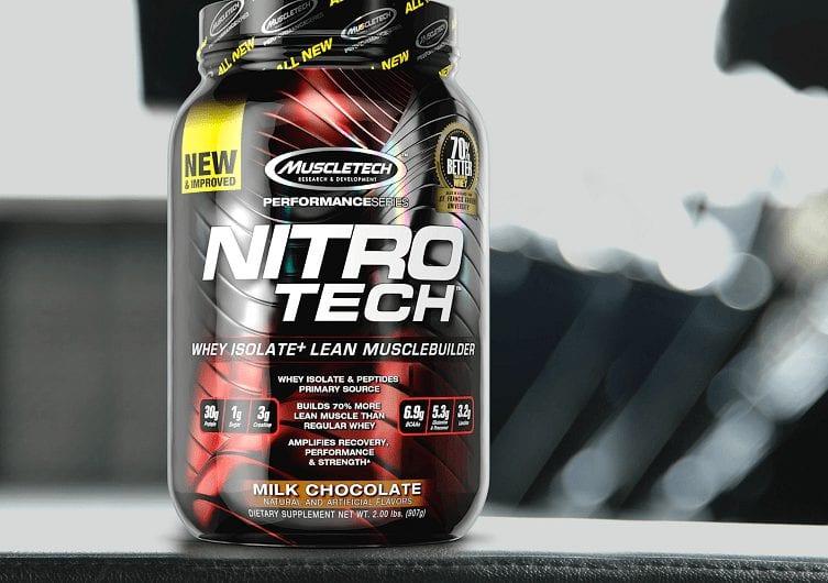 Photo of אבקת חלבון Nitro Tech: ספינת הדגל של חברת MuscleTech