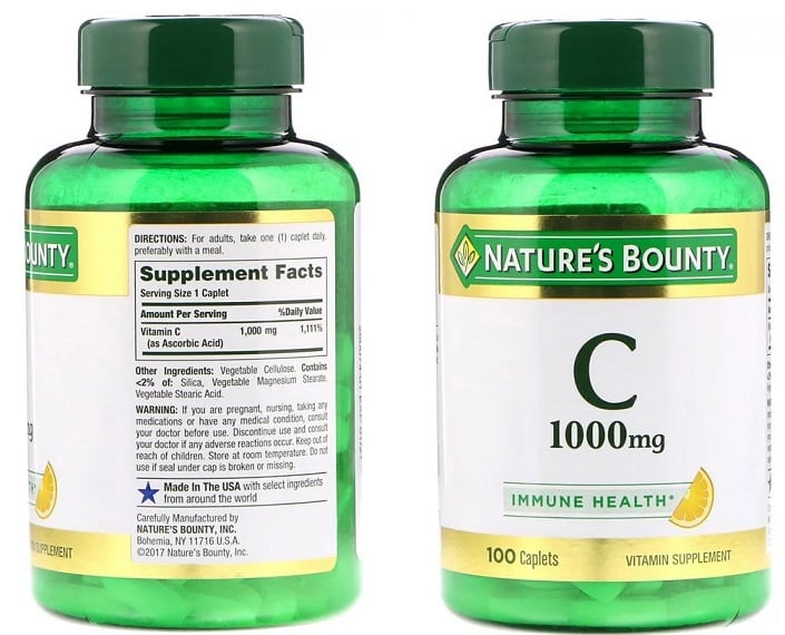 ויטמין C של מותג Nature's Bounty