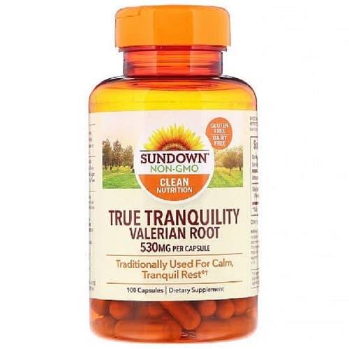 ולריאן רפואי של חברת Sundown Natural's