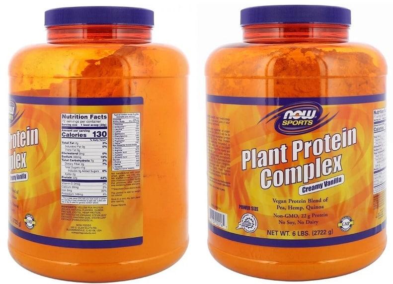 תשלובת חלבון טבעוני של חברת NOW Foods (1)