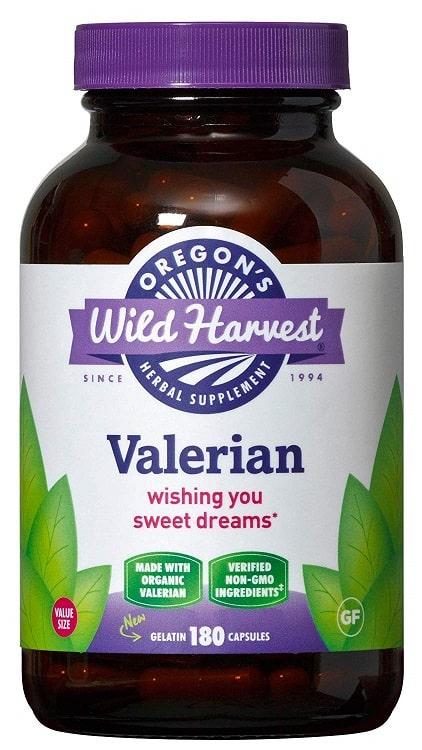 Valerian צמחוני של חברת Oregon's Wild Harvest