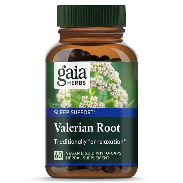 Valerian Root של חברת Gaia Herbs