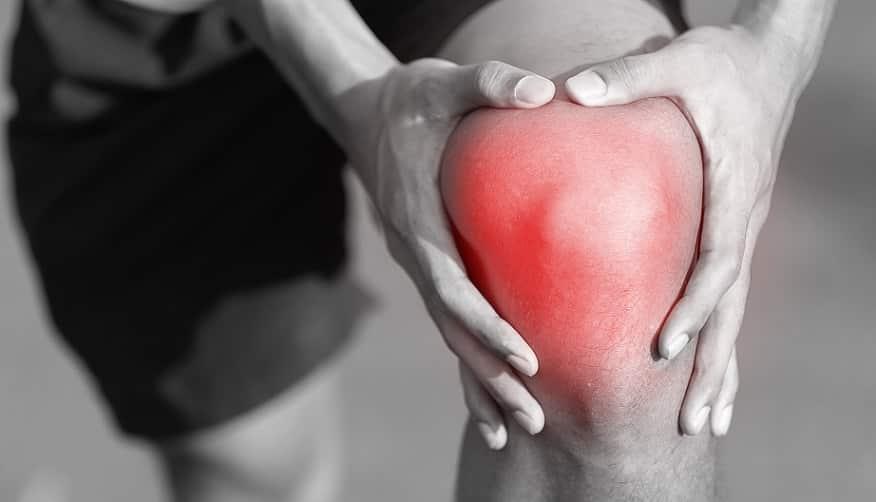 ברך אדומה מרוב כאב של המפרקים