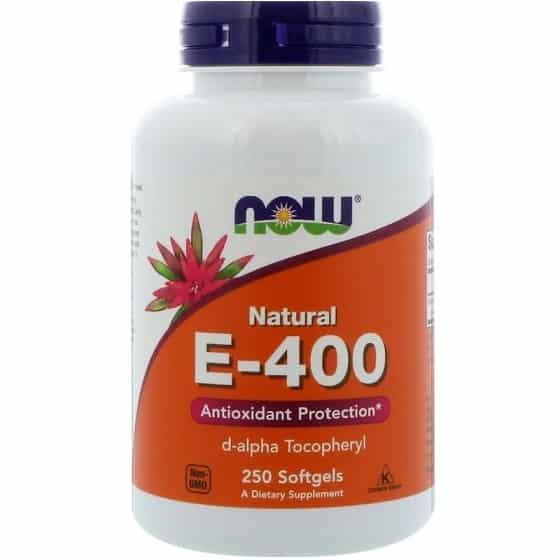 ויטמין E של מותג NOW Foods