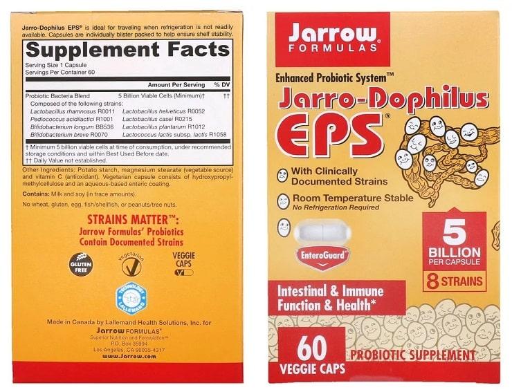 פרוביוטיקה של חברת Jarrow Formulas