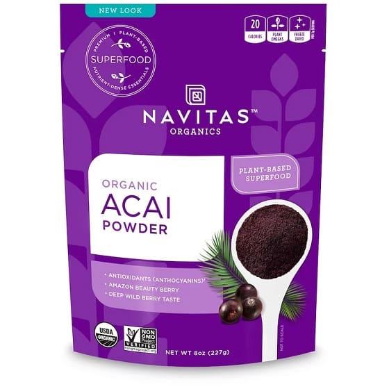 תוסף אסאי של חברת Navitas Organics