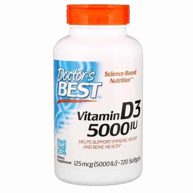 תוסף ויטמין D של מותג Doctor's Best