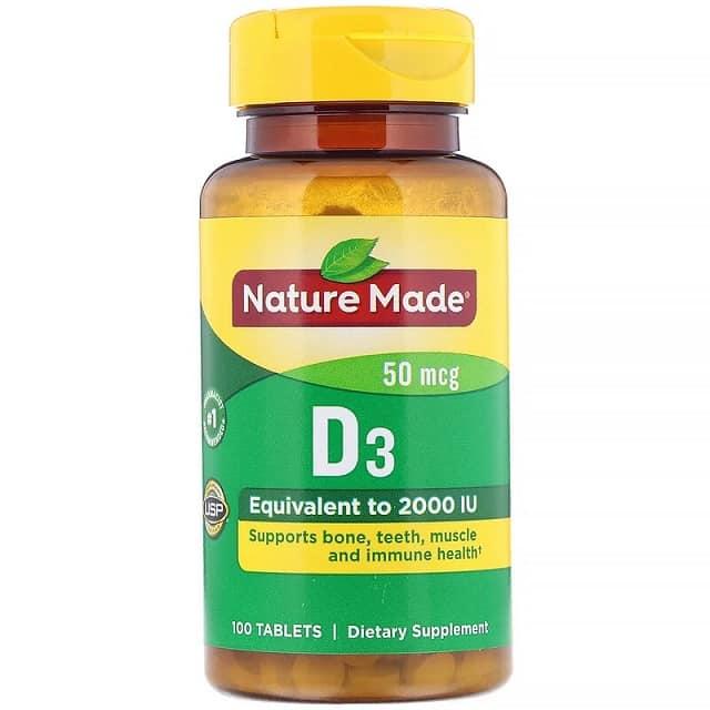 תוסף ויטמין D של מותג Nature's Made