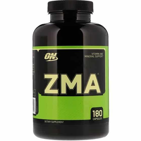 תוסף ZMA של חברת אופטימום נוטרישן