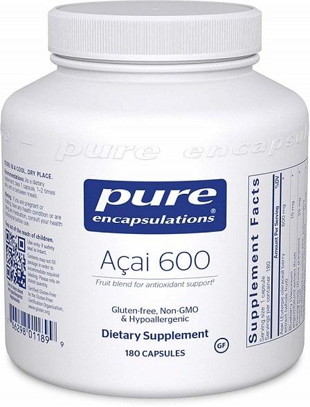 Pure Encapsulations ACAI 600