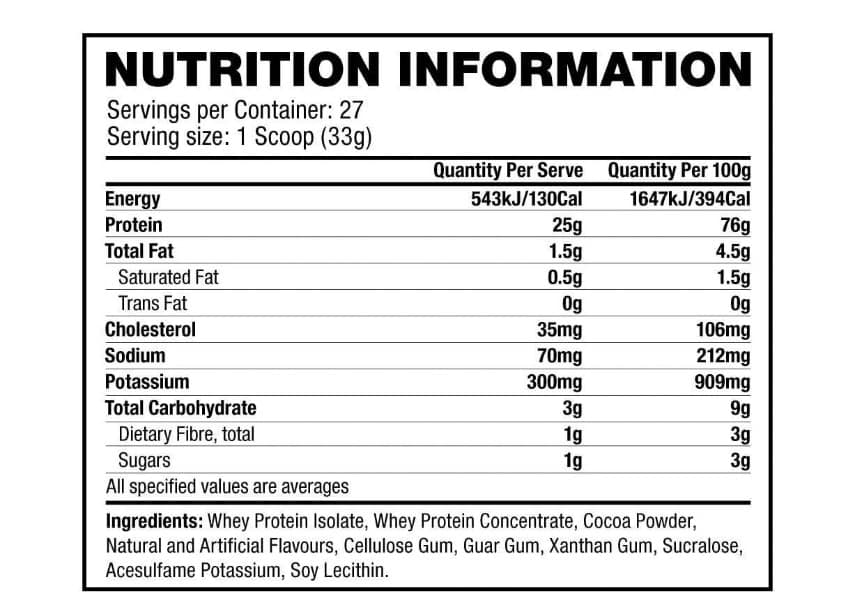 אבקת חלבון קומבט של מאסל פארם רשימת רכיבים