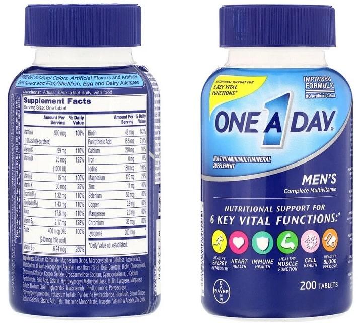 פורמולת בריאות לגבר לשימוש יומיומי מבית Bayer