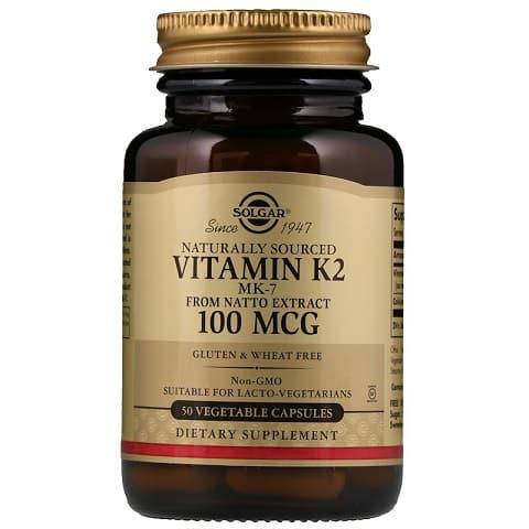 תוסף ויטמין K של חברת סולגאר