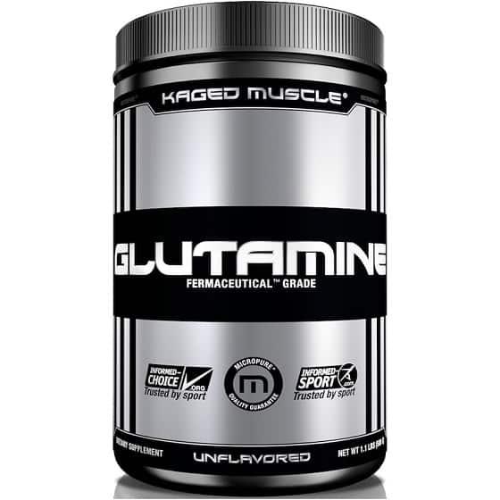 גלוטמין של חברת Muscle Kaged