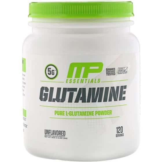 תוסף גלוטמין טהור של חברת MusclePharm