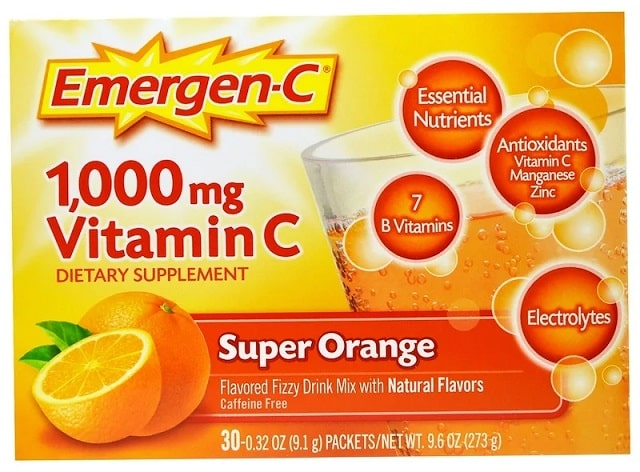 תוסף של חברת Emergen-C Super Orange